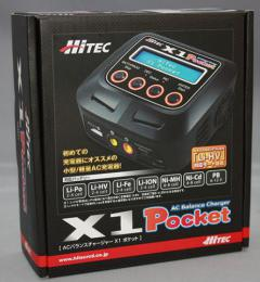 HiTEC AC Balance Charger X1 Pocket
