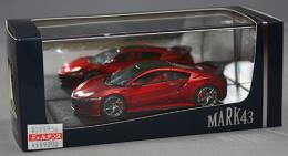Mark43 1/43 Honda NSX (NC1) 2017 Vaiencia Red Pearl Carbon Fiber Exterior Package