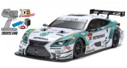 タミヤ 1/10 PETRONAS TOM'S RC F(TT-01シャーシ TYPE-E)