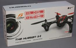 G-FORCE 2.4GHz 4ch Quadcopter  X4 HD ブラックグリーン H107C-2
