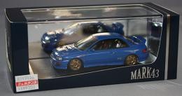 Mark43 1/43 SUBARU Impreza WRX type R STi Version 1997(GC8)