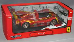 Hot Wheels 1/18 FERRARI F333 SP